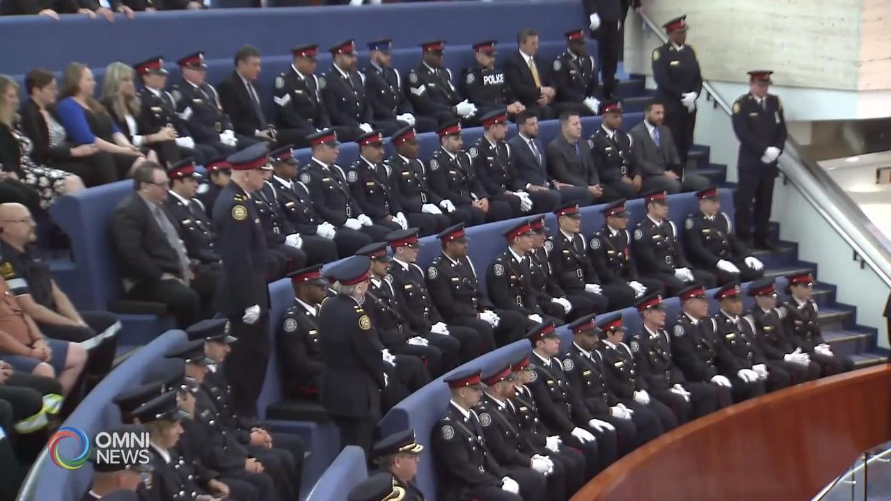 多伦多表扬执法和急救人员 – Jun 18, 2019 (ON)