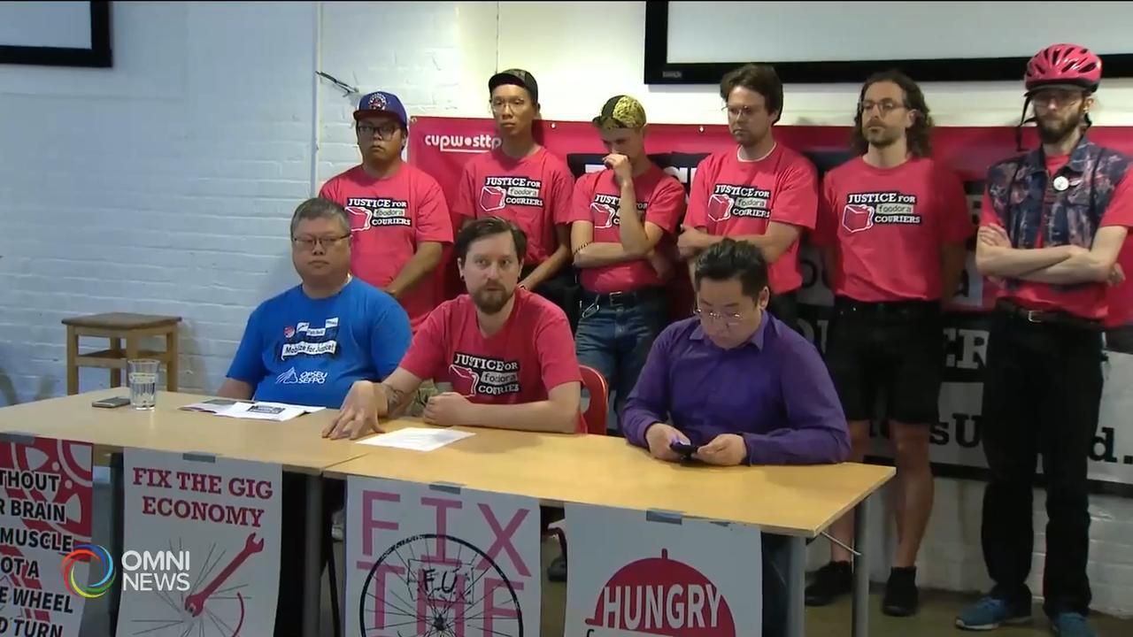 勞工組織支持網上送餐工人成立工會 — Jun 12, 2019 (ON)
