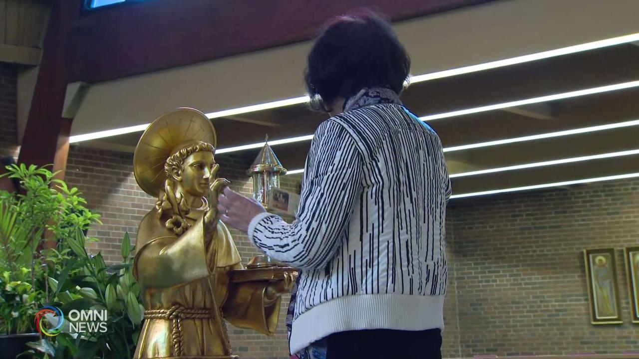 Le reliquie di Sant'Antonio da Padova a Toronto