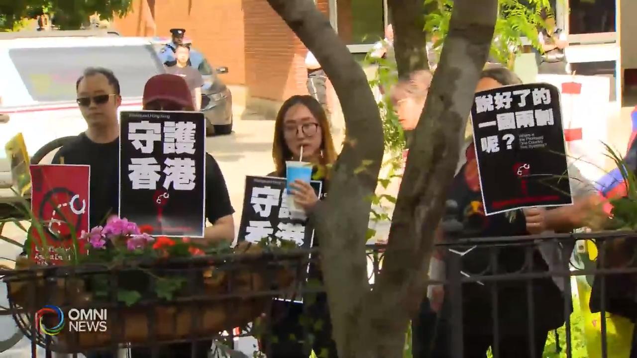 本地团体向多伦多香港经贸处提交抗议信  – Jun 13, 2019 (ON)