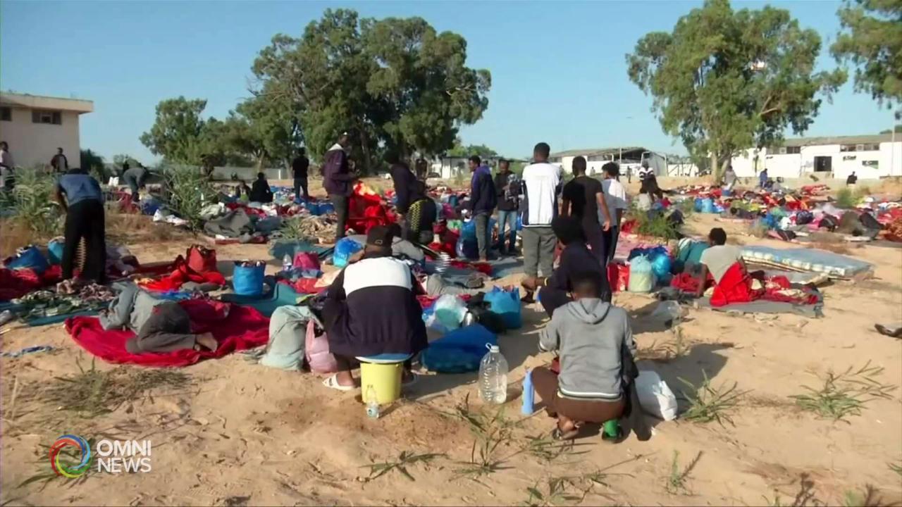 I campi di detenzione migranti in Libia