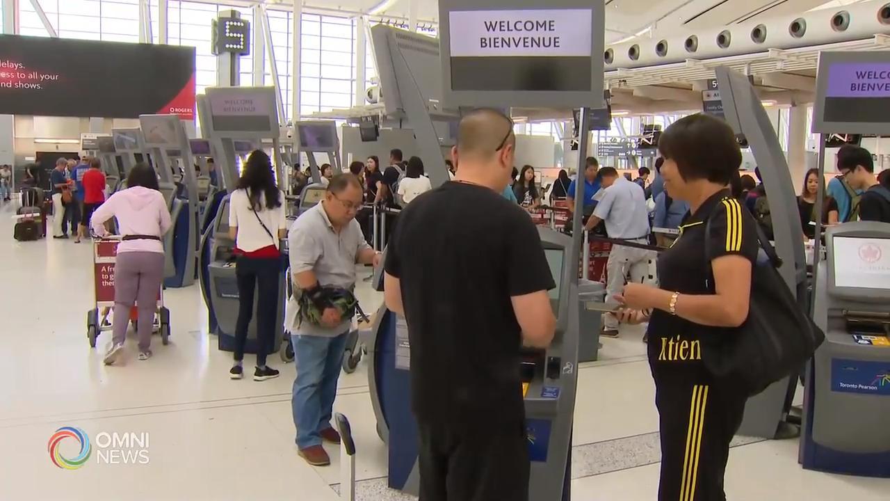 皮尔逊机场推出方便旅客的措施以及电子工具 – Jul 22, 2019 (ON)