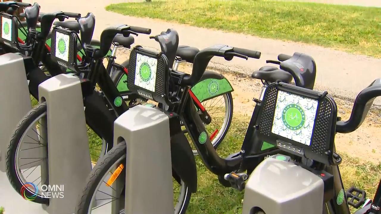 多倫多單車共享計劃再添置新車同車站 – Jul 11, 2019 (ON)