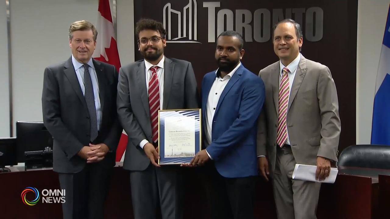 多倫多市政府嘉獎在加中創新大賽中獲佳績的本地企業 – Jul 17, 2019 (ON)
