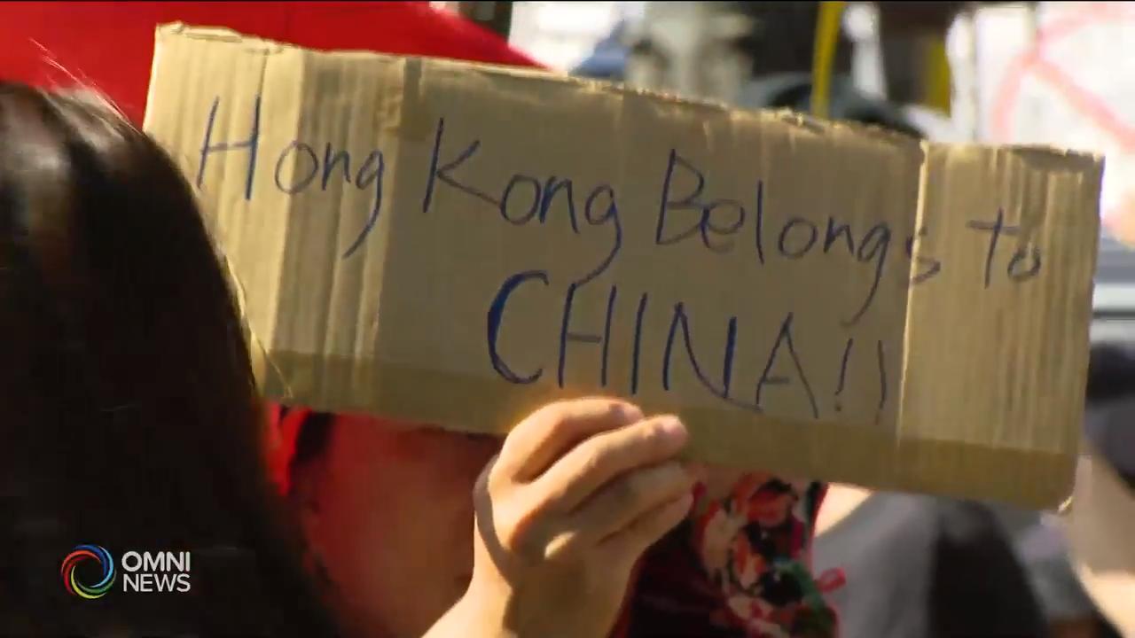 香港问题在华人社区产生矛盾 – Aug 19, 2019 (ON)