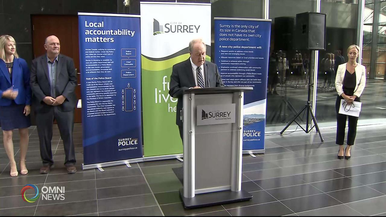 Surrey Police Transition Reax