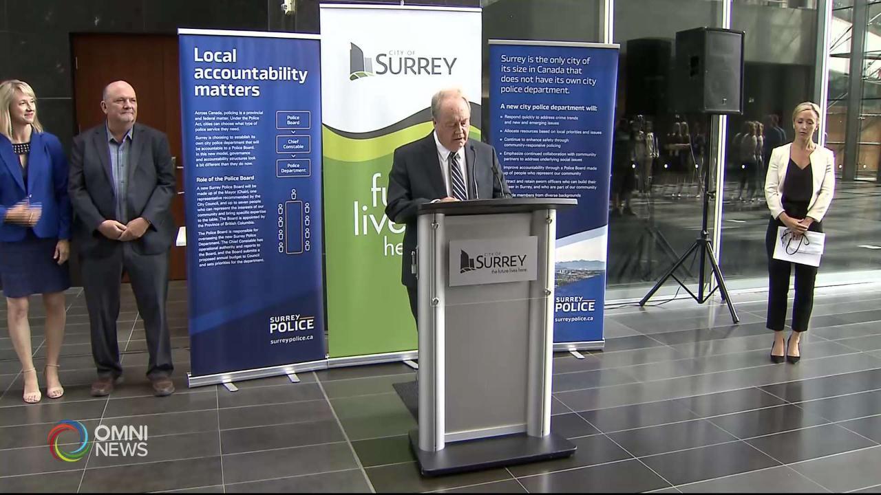 Surrey Police Transition Reax