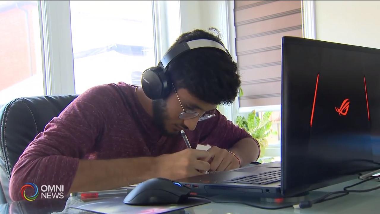 Peel student, Paawan Virdi on achieving 100% average