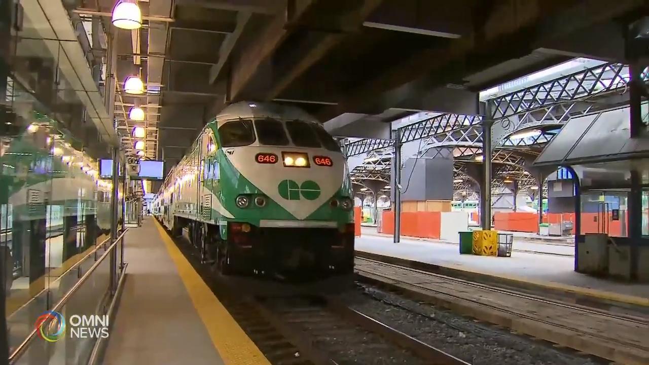 GO火车服务将加开班次 – Aug 15, 2019(ON)