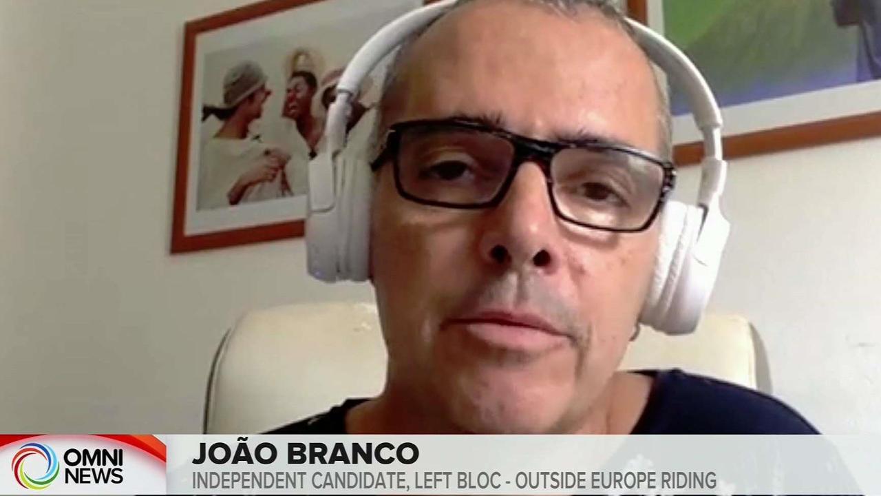 ELECTIONS IN PORTUGAL BLOCO DE ESQUERDA JOAO BRANCO