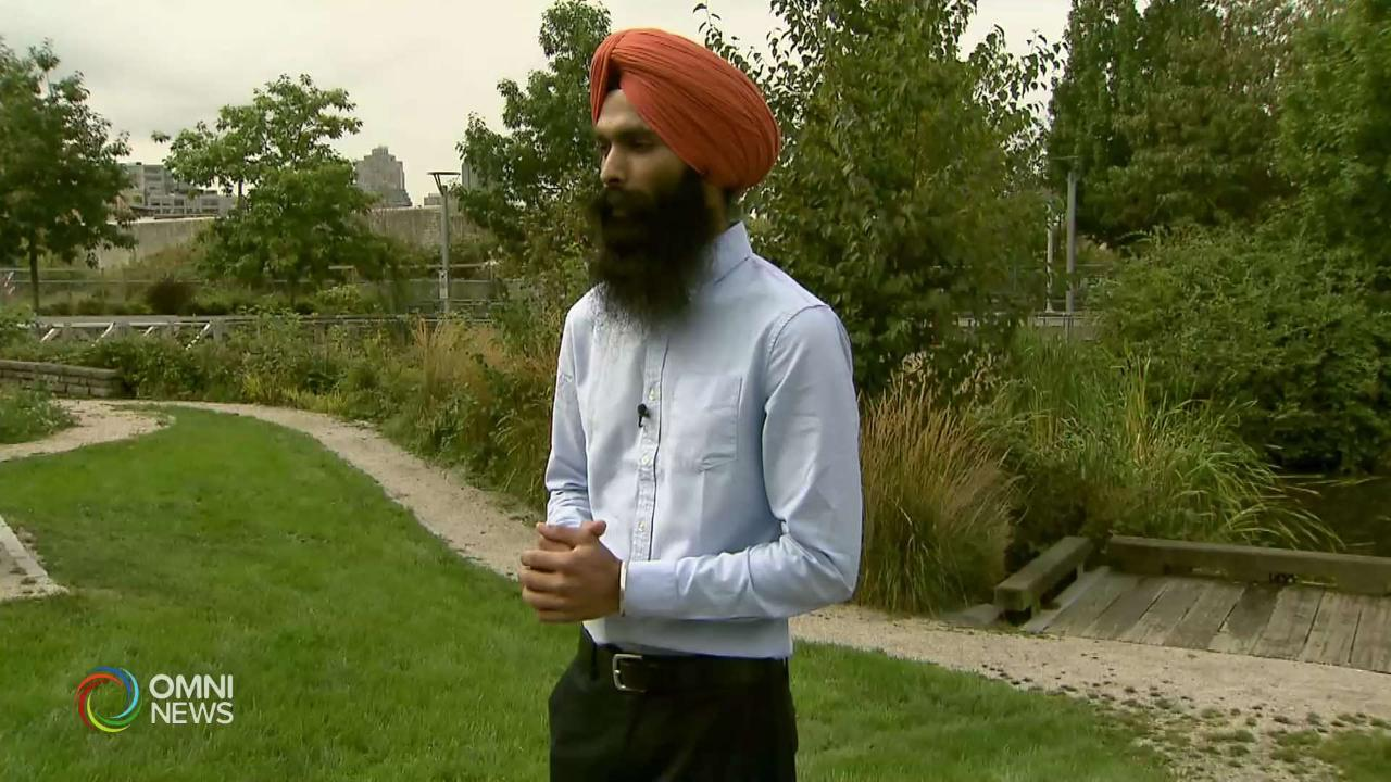 Good Samaritan Uses Turban to Save Life