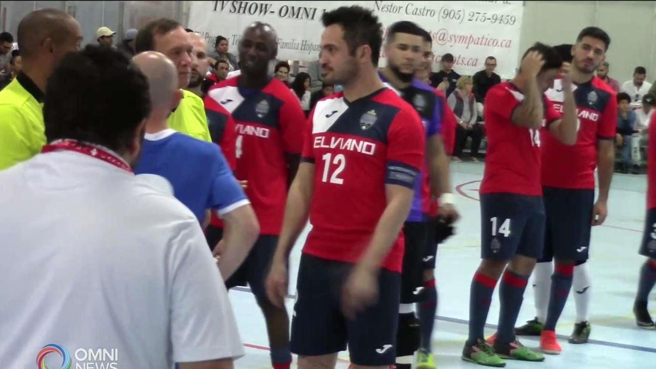 FUTSAL LEGEND FALCAO IN TORONTO