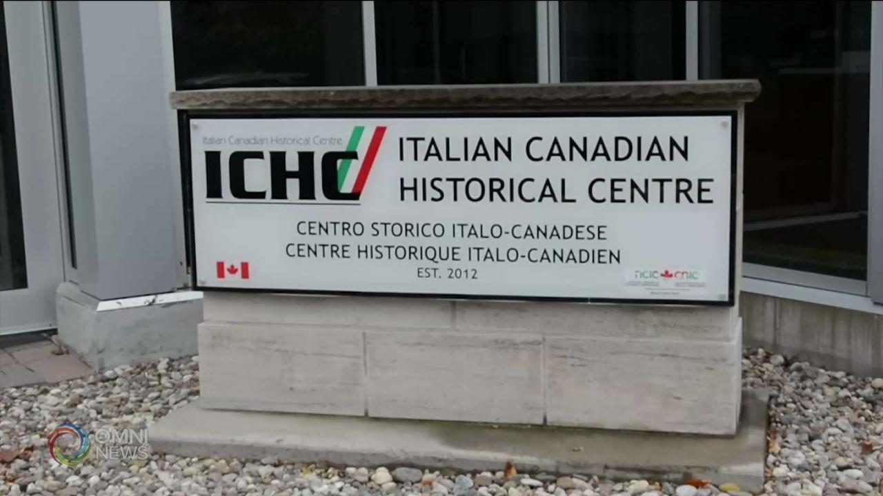 Remembrance Day all'Italian Canadian Congress di Ottawa