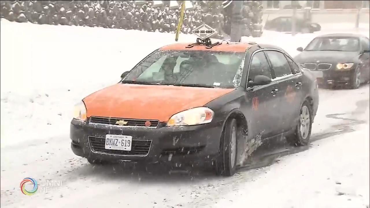 大多倫多地區今季第一場大雪 — Nov 11, 2019 (ON)