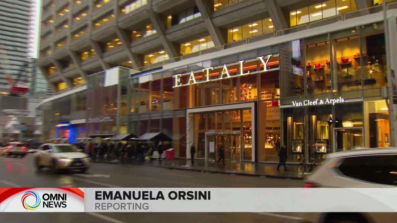Il primo Eataly canadese ha aperto le sue porte a Toronto