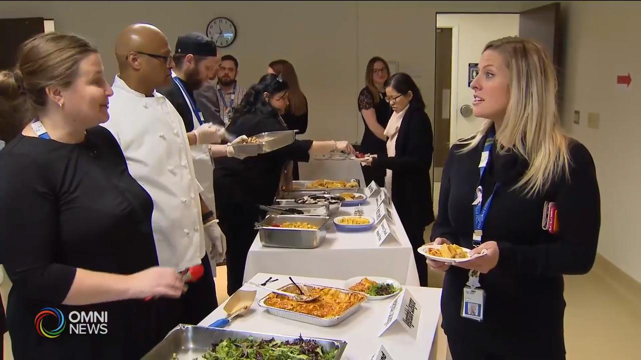 New diverse menu for hospital patients