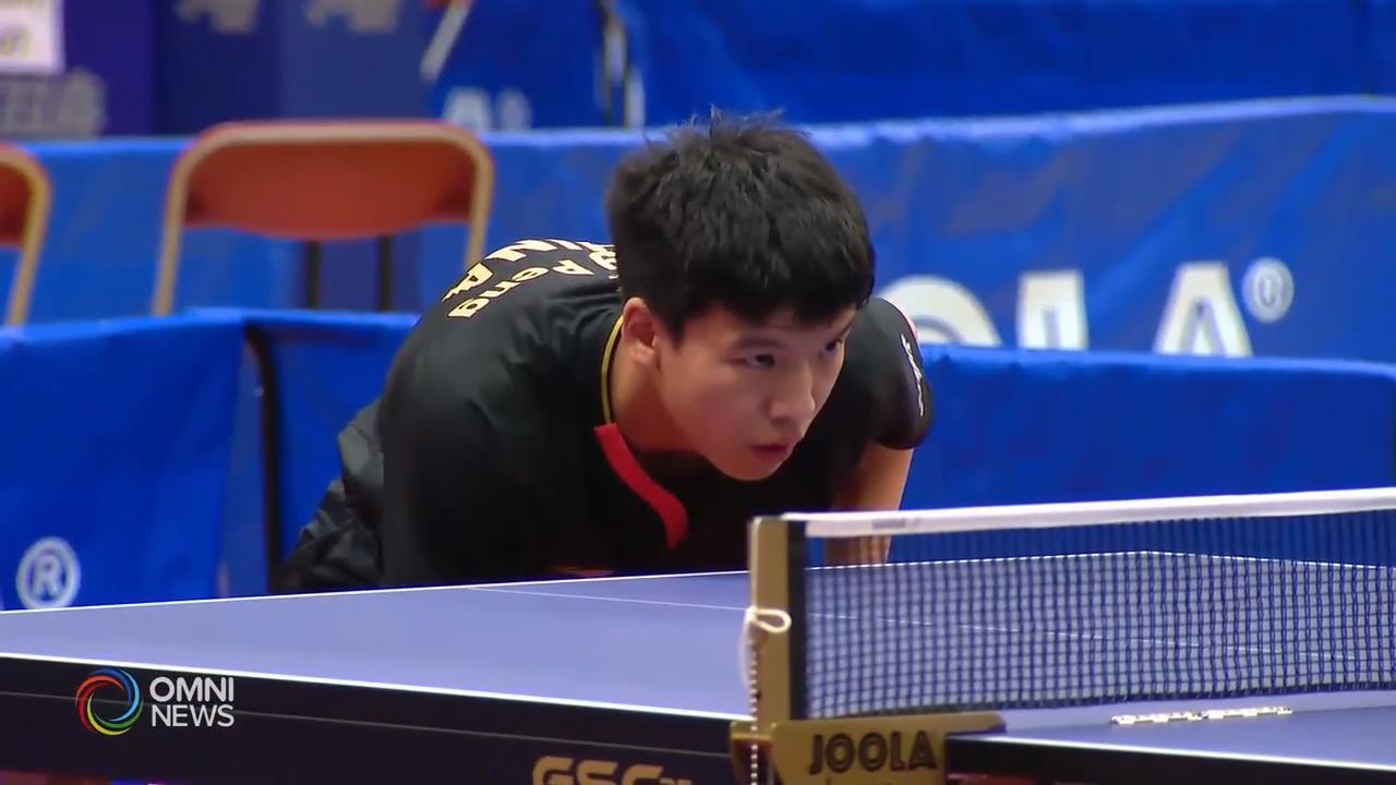 国际乒联加拿大挑战赛首次在万锦市舉行- Dec 04, 2019