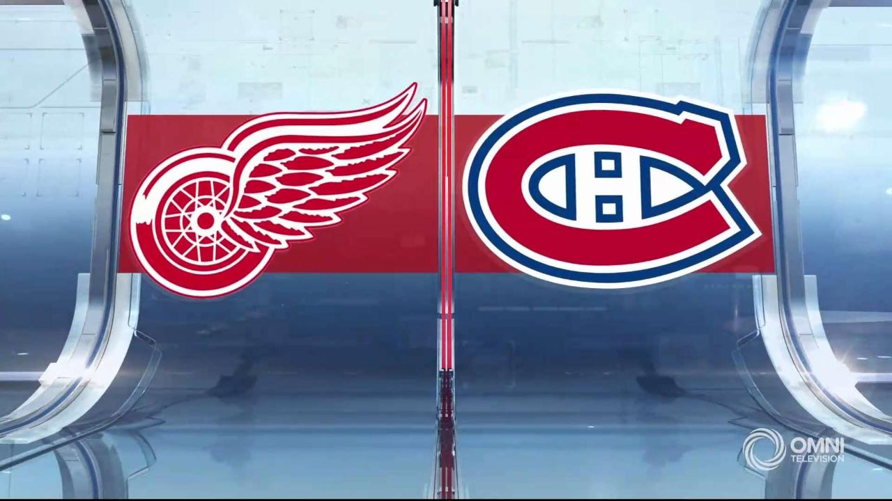 HIGHLIGHTS | Red Wings vs. Canadiens – Dec 14 2019