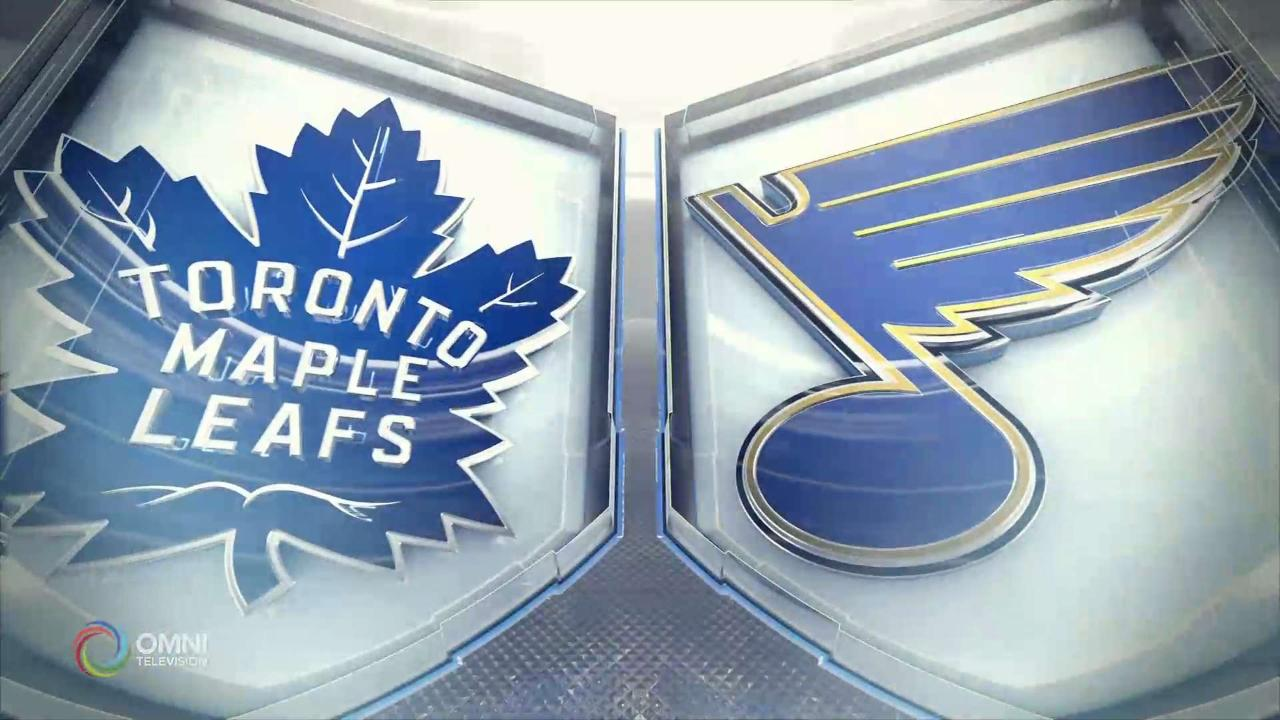HIGHLIGHTS | Maple Leafs vs. Blues – Dec 7 2019