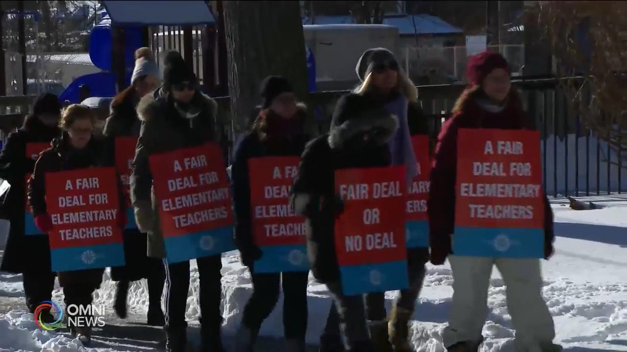 教師工潮升級,超過一百萬學生受影響 — Jan 20, 2020 (ON)