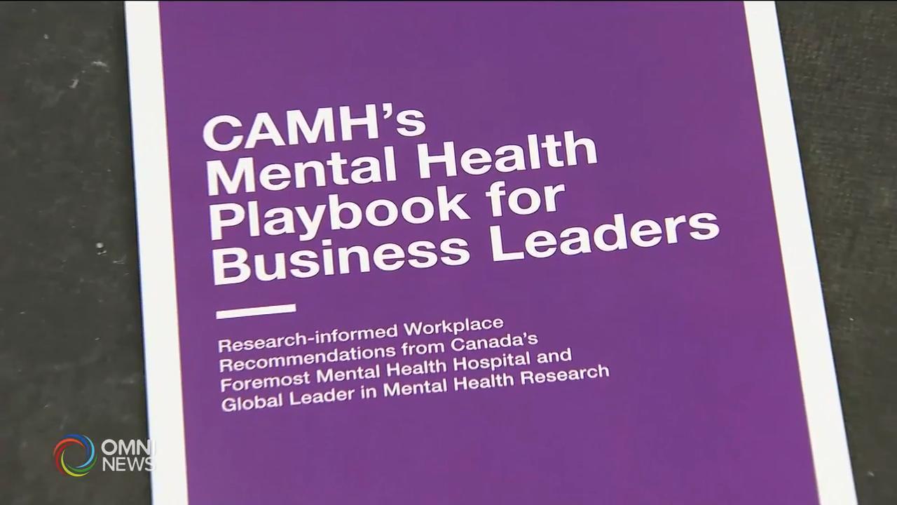 專家建議企業制定員工精神健康策略 — Jan 23, 2020 (ON)