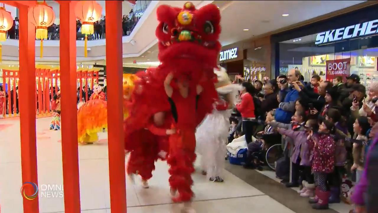 華人商場及主流購物中心營造春節氣氛 — Jan 20, 2020 (ON)。