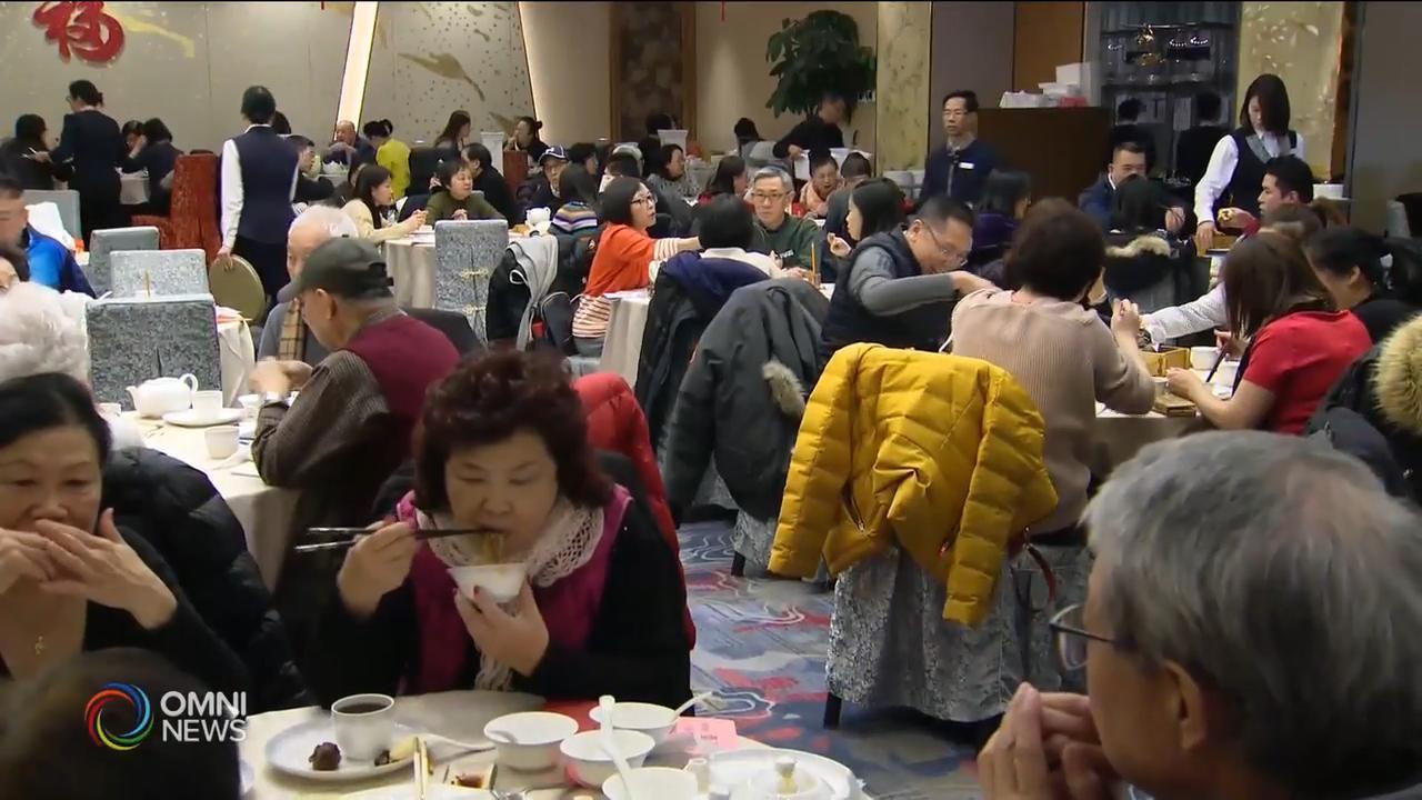 春節年夜飯銷情理想, 額外採取清潔措施 — Jan 24, 2020 (ON)