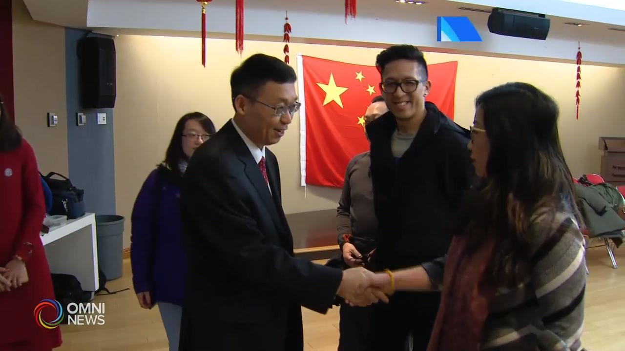 中国总领事韩涛向领区华人华侨拜年- Jan 21, 2020