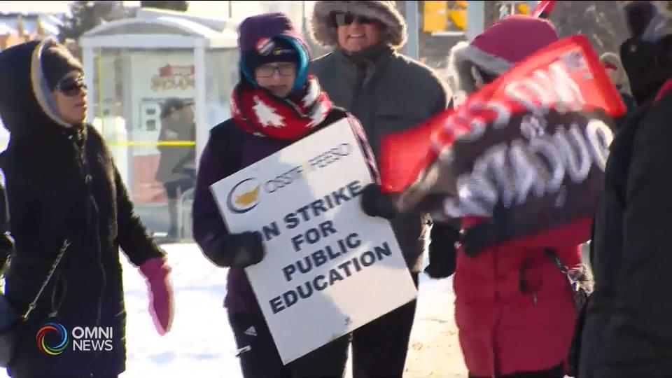 Peel District School Board strike