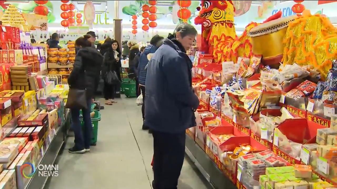 大年廿九 華人採買年貨好過年 — Jan 23, 2020 (ON)