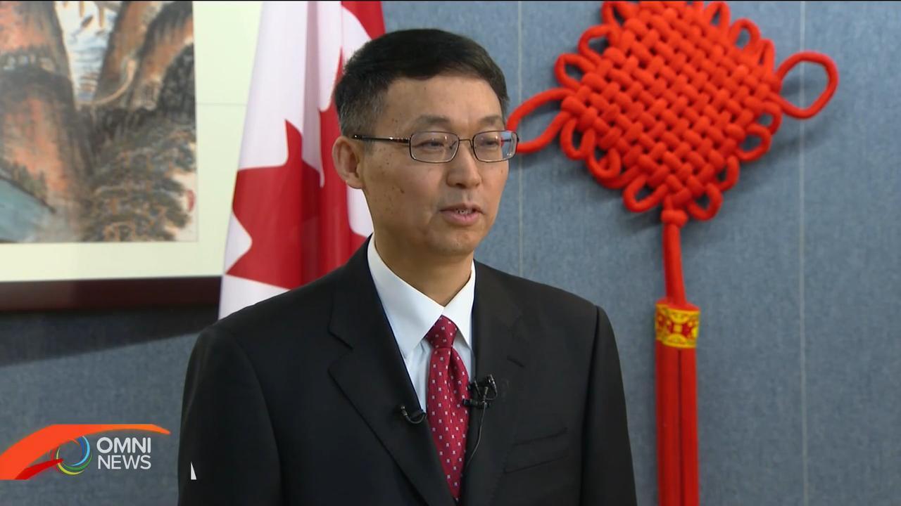 中國總領事韓濤向華人華僑拜早年 — Jan 21, 2020 (ON)