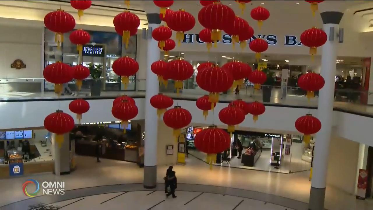 大型主流商場亦慶祝農曆新年 — Jan 24, 2020 (ON)