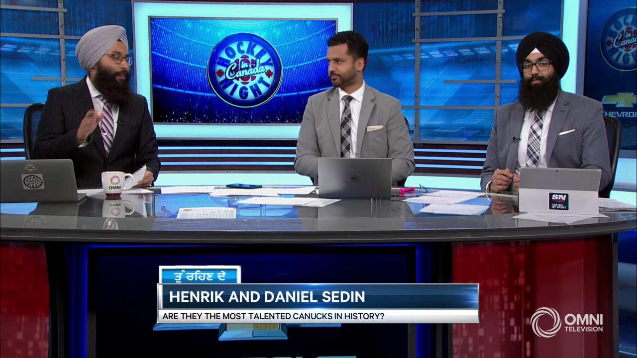 Tu Rehnde – Are the Sedins the most talented Canucks?