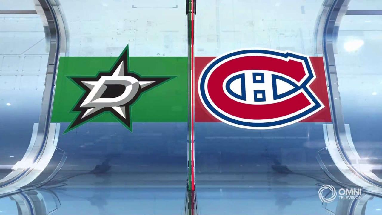 Dallas vs Montreal Full Highlights – Feb. 15, 2020