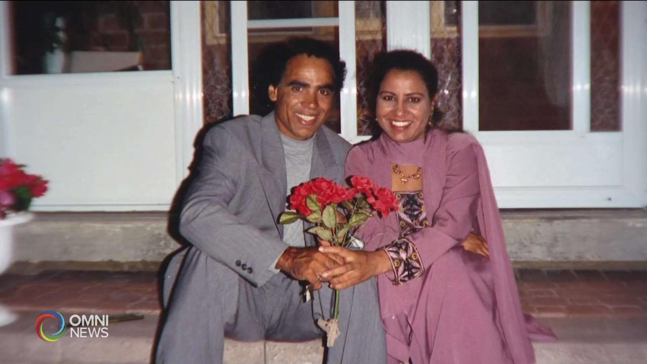 Immigrant Couple celebrating Valentine's day