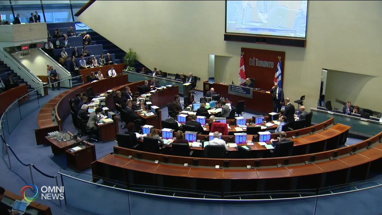 多倫多通過預算, 增加地稅投資十年基建 — Feb 19, 2020 (ON)