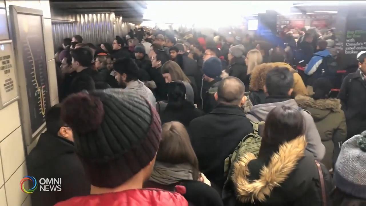 地鐵1號線工程車脫軌, 服務暫停近七小時 — Feb 13, 2020 (ON)