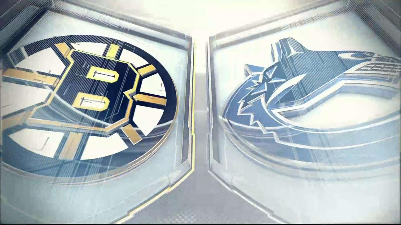 HIGHLIGHTS |  Bruins vs. Canucks – Feb 22 2020