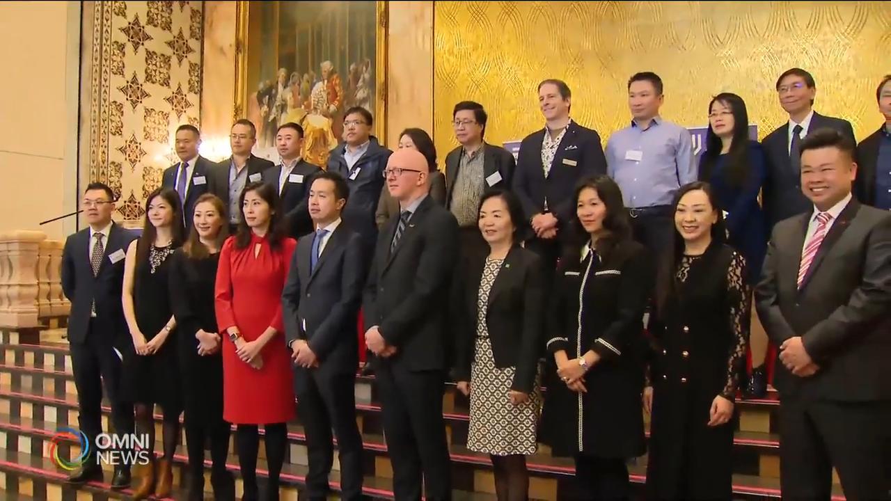 傑出華裔創業家選舉頒獎典禮下個月底舉行 — Feb 27, 2020 (ON)