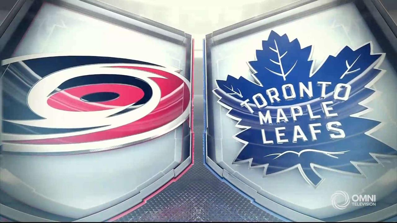 HIGHLIGHTS | Hurricanes vs. Maple Leafs – Feb 22 2020