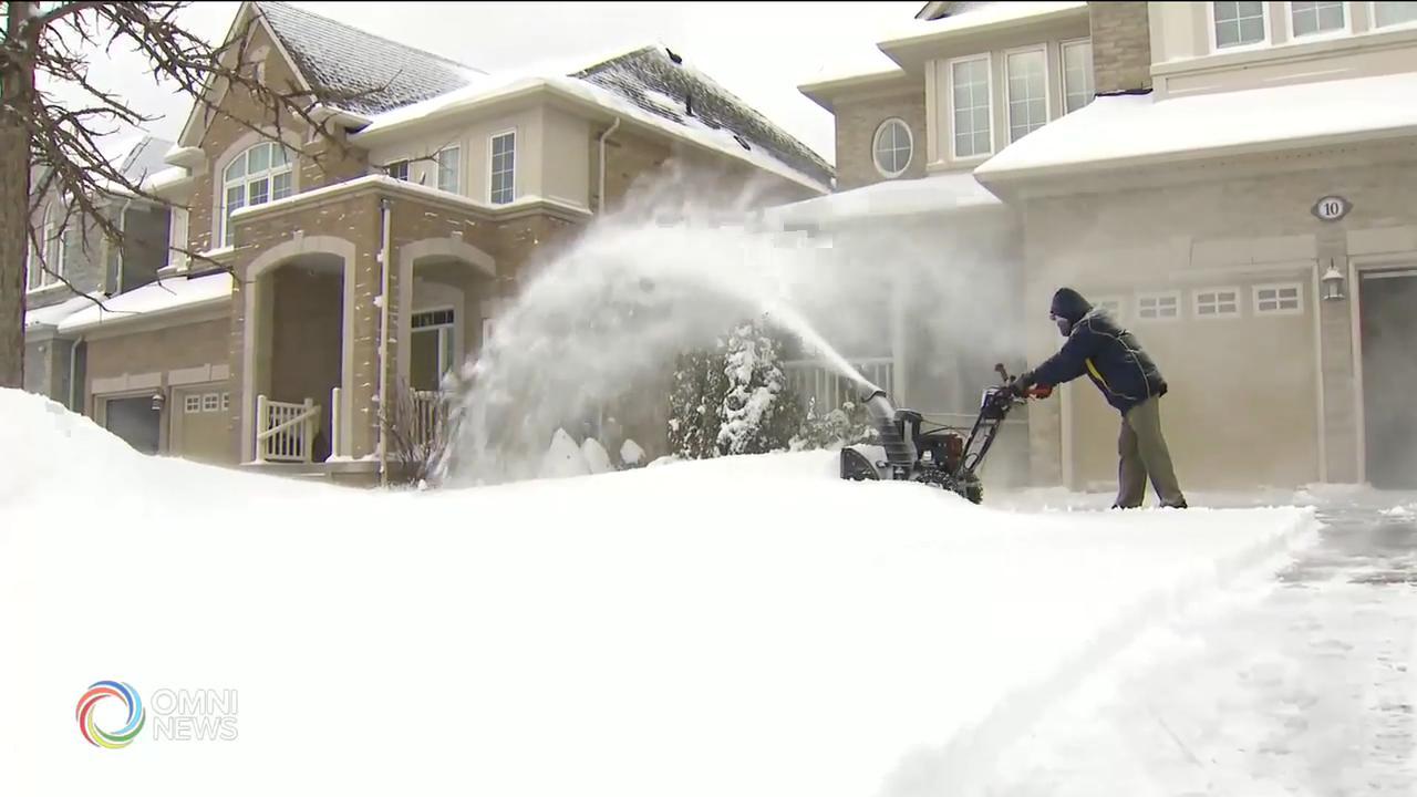 入冬以來嚴重雪暴,積雪超過20厘米 — Feb 27, 2020 (ON),