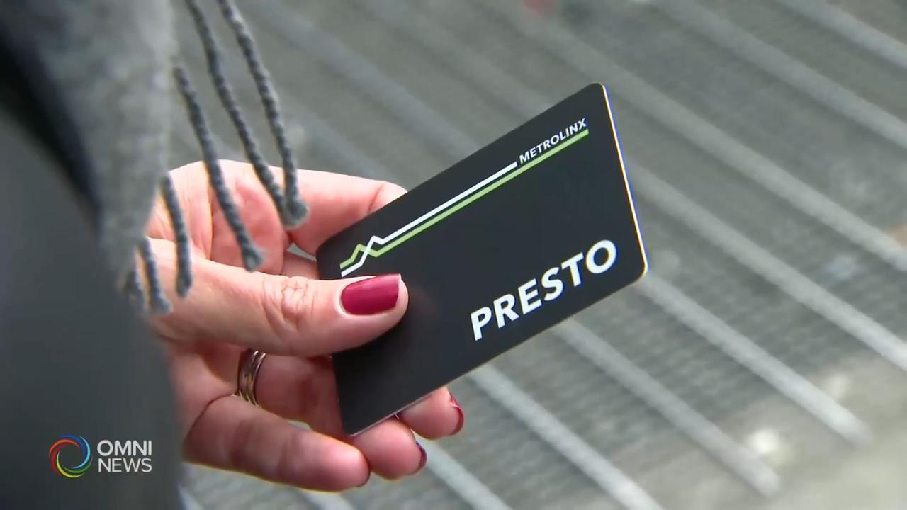 多伦多公车局只接受使用Presto卡 — Mar 24, 2020 (ON)