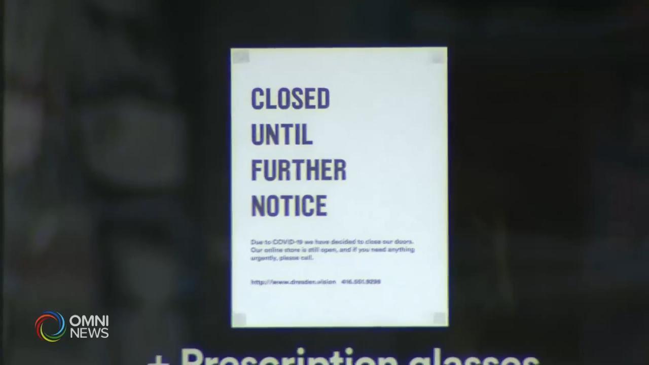 非必要服务禁令午夜后生效 — Mar 24, 2020 (ON)