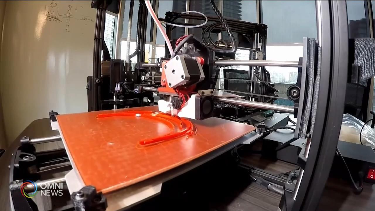 多倫多圖書館借出立體打印機製作防護面罩 — Mar 30, 2020 (ON)