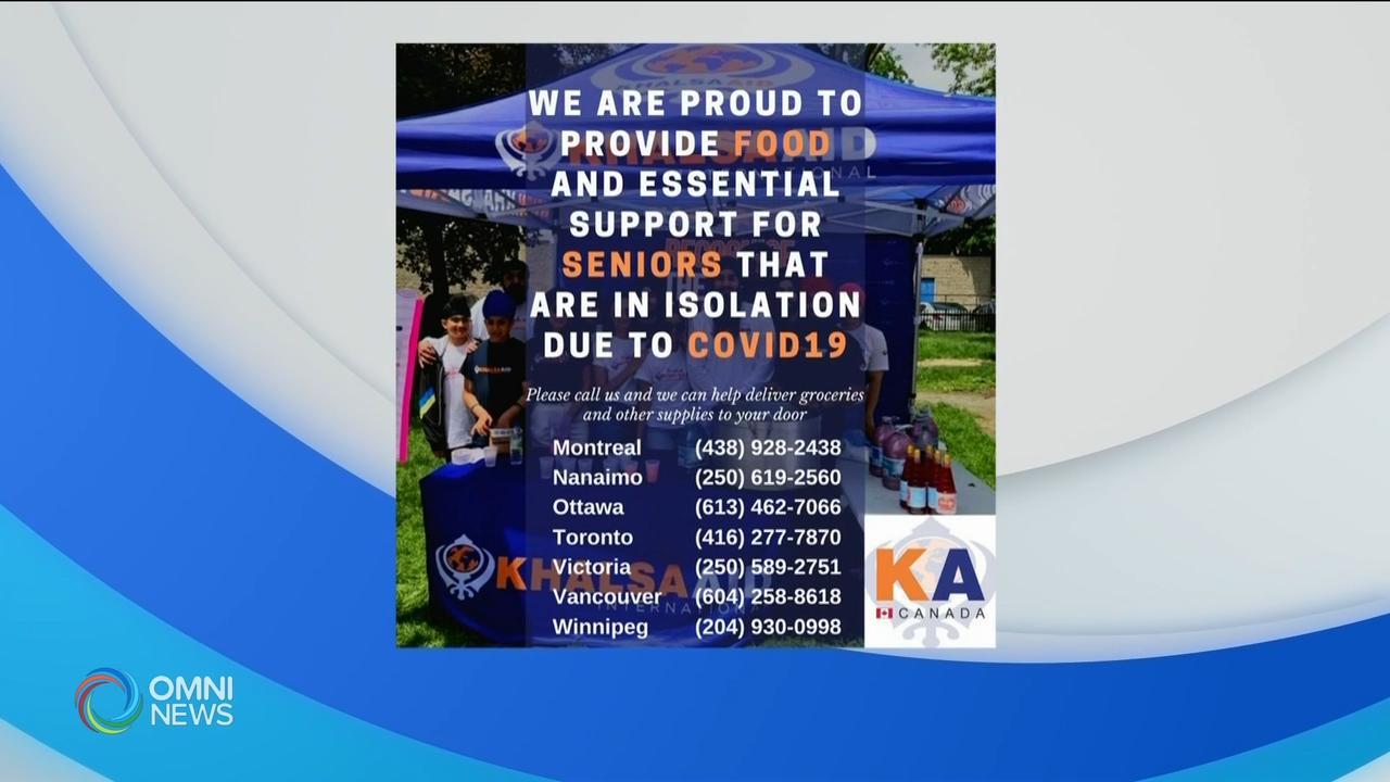 Khalsa Aid COVID-19 campaign