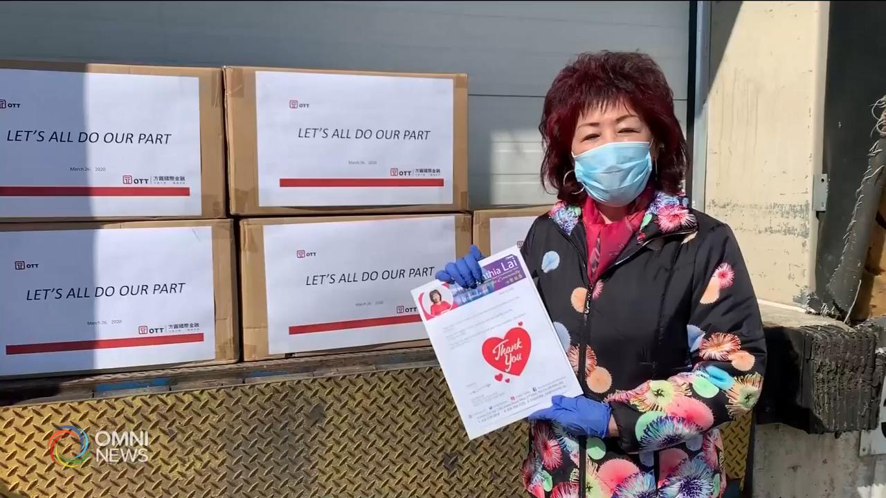 面對嚴峻疫情, 社區紛紛伸出援手 — Mar 27, 2020 (ON)