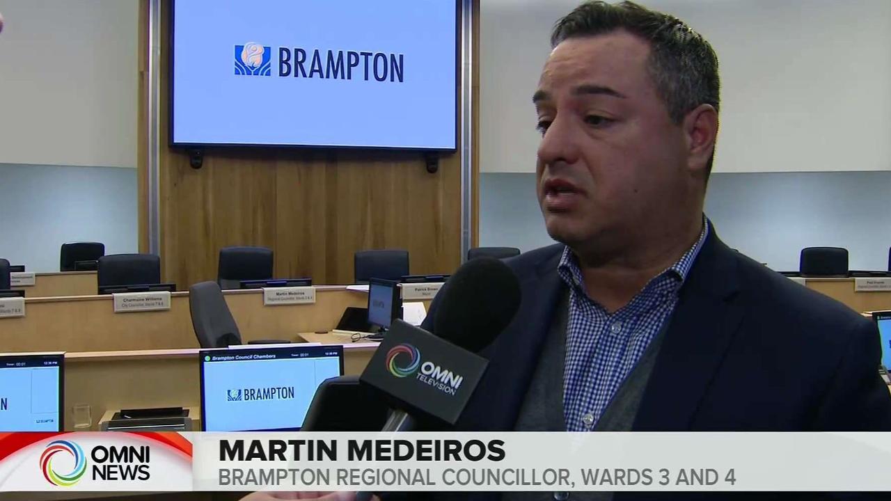 BRAMPTON BUDGET 2020 MARTIN MEDEIROS INTERVIEW