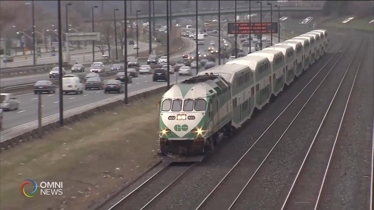 GO Transit 進一步削減服務 — Apr 08, 2020 (ON)
