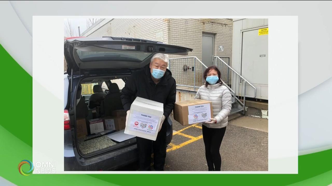 安省华人社团为为医疗机构捐助急需物资- Mar 31, 2020