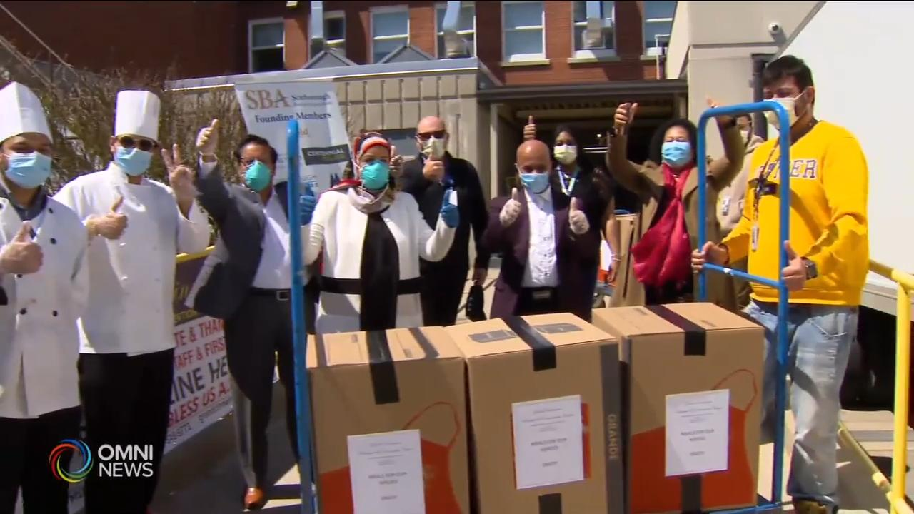 Warm meals delivered to Scarborough workers